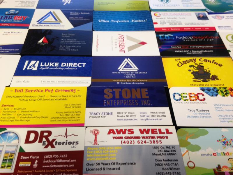 Business card design premium printing and design cutting edge business card design colourmoves