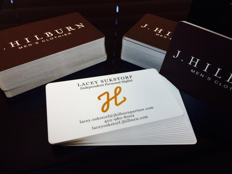 Cutting edge business cards 44 full color business cards silk laminated business cards colourmoves