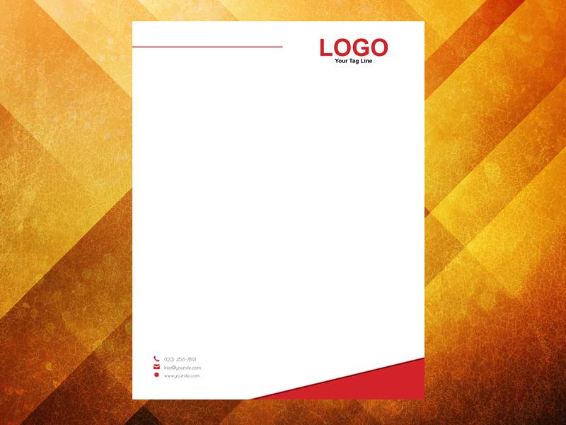 Red One Letterhead